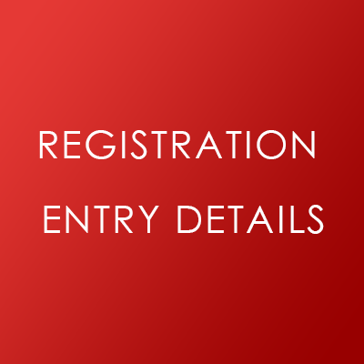 GDPR Registration Entry Details